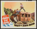 """Movie Posters:Western, West of Pinto Basin Lot (Monogram, 1940). Lobby Cards (11) (11"""" X 14""""). Western.. ... (Total: 11 Items)"""