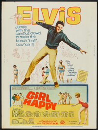"Girl Happy (MGM, 1965). Poster (30"" X 40""). Elvis Presley"