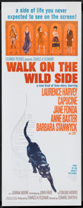 "Movie Posters:Drama, Walk On The Wild Side (Columbia, 1962). Insert (14"" X 36"") andBanner (24"" x 82""). Drama.. ... (Total: 2 Items)"