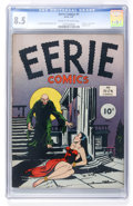 Golden Age (1938-1955):Horror, Eerie Comics #1 (Avon, 1947) CGC VF+ 8.5 Cream to off-whitepages....
