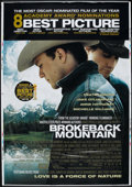 "Movie Posters:Drama, Brokeback Mountain (Focus Features, 2005). Bus Shelter (48"" X 70"").Drama.. ..."