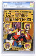 Golden Age (1938-1955):Classics Illustrated, Classic Comics #1 The Three Musketeers - Original Edition (Elliott, 1941) CGC FN 6.0 Cream to off-white pages....