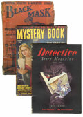Pulps:Detective, Miscellaneous Detective Pulps Short Box Lot (Various Publishers,1927-52) Condition: Average GD+.... (Total: 35 Items)