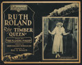 """Movie Posters:Serial, The Timber Queen (Pathé, 1922) Title Lobby Card (11"""" X 14"""") Episode2 -- """"The Flaming Forest."""" Serial.. ..."""