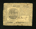 Colonial Notes:Continental Congress Issues, Continental Currency July 22, 1776 $7 Fine....