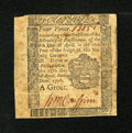 Colonial Notes:Pennsylvania, Pennsylvania April 25, 1776 4d Very Fine....
