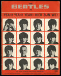 "Movie Posters:Rock and Roll, A Hard Day's Night Lot (United Artists, 1964). Dutch Program(Multiple Pages) (8.25"" X 10.5"") and Stills (2) (8"" X 10""). Roc...(Total: 3 Items)"