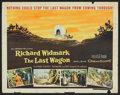 """Movie Posters:Western, The Last Wagon Lot (20th Century Fox, 1956). Half Sheets (2) (22"""" X28""""). Western.. ... (Total: 2 Items)"""