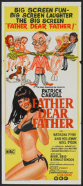 "Movie Posters:Comedy, Father Dear Father (Rank, 1973). Australian Daybill (13"" X 30"").Comedy.. ..."