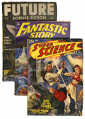 Pulps:Science Fiction, Miscellaneous Science Fiction Pulps Short Box Lot (VariousPublishers, 1940-53) Condition: Average VG.... (Total: 33 Items)