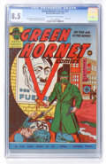 Golden Age (1938-1955):Superhero, Green Hornet Comics #13 (Harvey, 1943) CGC VF+ 8.5 Off-white to white pages....