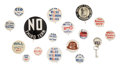 Political:Pinback Buttons (1896-present), Wendell Willkie: Large Lot of Seventeen Campaign Buttons.... (Total: 17 Items)