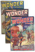 Pulps:Science Fiction, Thrilling Wonder Stories Box Lot (Beacon, 1936-55) Condition:Average VG.... (Total: 3 Box Lots)