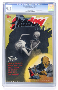 Shadow Comics V3#11 (Street & Smith, 1944) CGC NM- 9.2 Off-white to white pages