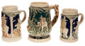 "Political:3D & Other Display (1896-present), Theodore Roosevelt: Three ""TR on an African Elephant"" Mugs....(Total: 3 Items)"