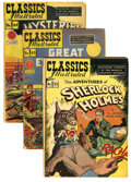 Golden Age (1938-1955):Classics Illustrated, Classics Illustrated Box Lot (Gilberton, 1947-70)....