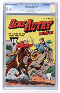 Gene Autry Comics #3 (Fawcett, 1942) CGC NM 9.4 Off-white pages