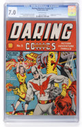 Golden Age (1938-1955):Superhero, Daring Mystery Comics #5 (Timely, 1940) CGC FN/VF 7.0 Off-white pages....