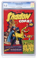 Golden Age (1938-1955):Crime, Shadow Comics #10 (Street & Smith, 1941) CGC VF/NM 9.0 Off-white to white pages....