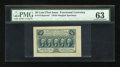 Fractional Currency:First Issue, Fr. 1313SP 50c First Issue Wide Margin Face PMG Choice Uncirculated63....