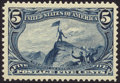 Stamps, 5c Dull Blue (288),...