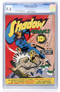 Shadow Comics V2#5 (Street & Smith, 1942) CGC NM 9.4 Off-white to white pages