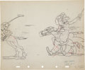 Animation Art:Production Drawing, Mickey's Polo Team Animation Production Drawing Original ArtGroup of 3 (Disney, 1936).... (Total: 3 Items)
