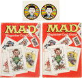 Memorabilia:MAD, Mad Magazine Card Game (Parker Brothers, 1980).... (Total: 2 Items)