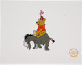 Memorabilia:Disney, Winnie the Pooh and the Blustery Day Limited Edition Serigraph Cel (Disney, undated)....
