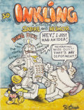 Original Comic Art:Covers, Robert Crumb Inkling Cover Unpublished Original Art (c.1967)....