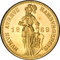 German States:Hamburg, German States: Hamburg. Free City gold Ducat 1869B,...