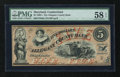 Obsoletes By State:Maryland, Cumberland, MD- Allegany County Bank $5 Feb. 13, 1861. ...