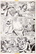 Original Comic Art:Panel Pages, Barry Smith and Sal Buscema Conan the Barbarian #14 page 10Original Art (Marvel, 1971)....