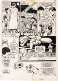 Original Comic Art:Panel Pages, Neal Adams and Dick Giordano All-New Collectors Edition#C-56 Superman Vs. Muhammad Ali Boxing Match O...
