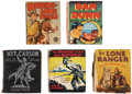 Platinum Age (1897-1937):Miscellaneous, Mixed Big Little Book Group (Various, 1933-38).... (Total: 5Items)