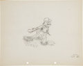 Animation Art:Production Drawing, Two-Gun Mickey Animation Production Drawing Original Art(Disney, 1934)....