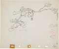 Animation Art:Production Drawing, Mickey's Rival Animation Production Drawing Original ArtGroup of 2 (Disney, 1936).... (Total: 2 Items)