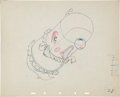 Animation Art:Production Drawing, Make Mine Music Animation Production Drawing Original Art (Disney, 1946)....