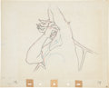 Animation Art:Production Drawing, Fantasia Chernabog Animation Production Drawing Original Art(Disney, 1940)....