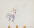 Animation Art:Production Drawing, Fantasia Melinda Production Drawing Original Art (Disney,1940)....