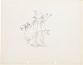 Animation Art:Production Drawing, Mickey in Arabia Animation Production Drawing Original ArtGroup of 2 (Disney, 1932).... (Total: 2 Items)