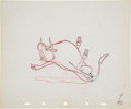 Animation Art:Production Drawing, Ferdinand the Bull Animation Production Drawing Original Art(Disney, 1934)....