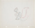 Animation Art:Production Drawing, Screwball Squirrel Animation Production Drawing Original Art (MGM, 1944)....