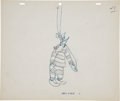Animation Art:Production Drawing, Northwest Hounded Police Animation Production DrawingOriginal Art (MGM, 1946)....