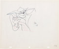 Animation Art:Production Drawing, Tom and Jerry The Zoot Cat Animation Production DrawingOriginal Art Group of 2 (MGM, 1944).... (Total: 2 Items)