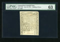Colonial Notes:Connecticut, Connecticut June 19, 1776 1s/6d PMG Choice Uncirculated 63....
