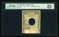 Colonial Notes:Connecticut, Connecticut June 1, 1780 2s/6d Hole Cancel PMG Net Very Fine 25....