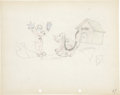 Animation Art:Production Drawing, The Mad Doctor Animation Production Drawing Original Art(Disney, 1933)....
