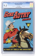 Golden Age (1938-1955):Western, Gene Autry Comics #2 (Fawcett, 1942) CGC NM- 9.2 Off-whitepages....