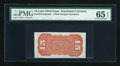 Fractional Currency:Third Issue, Fr. 1273-5 SP 15c Third Issue Wide Margin Back PMG Gem Uncirculated 65 EPQ....